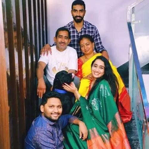 Vindhya Vishaka Medapati family