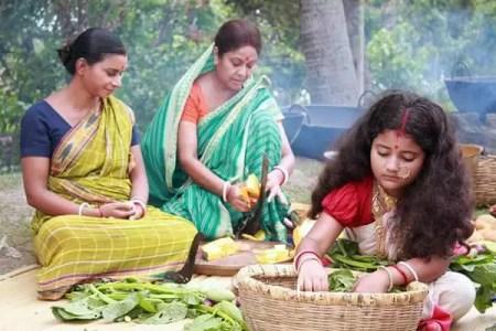 Asmee Ghosh in Sati Bengali Serial
