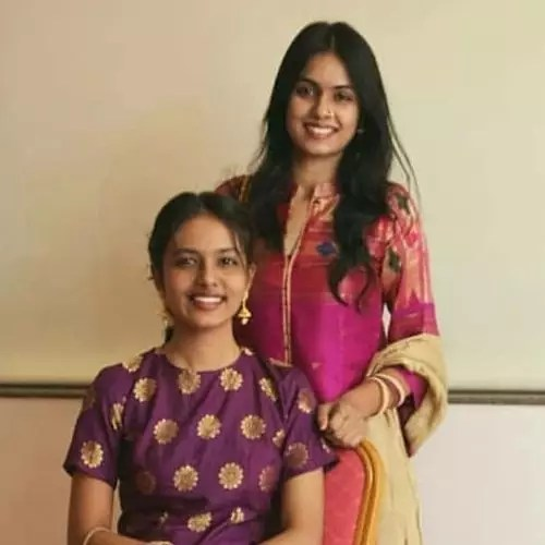 Gauri Deshpande with Sister