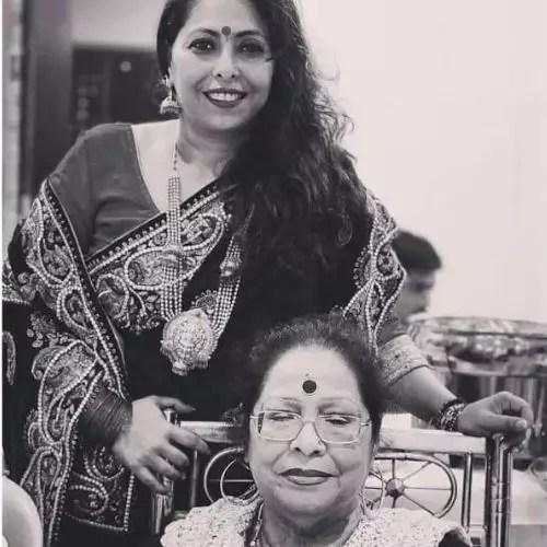 Geeta Kapoor with Mother