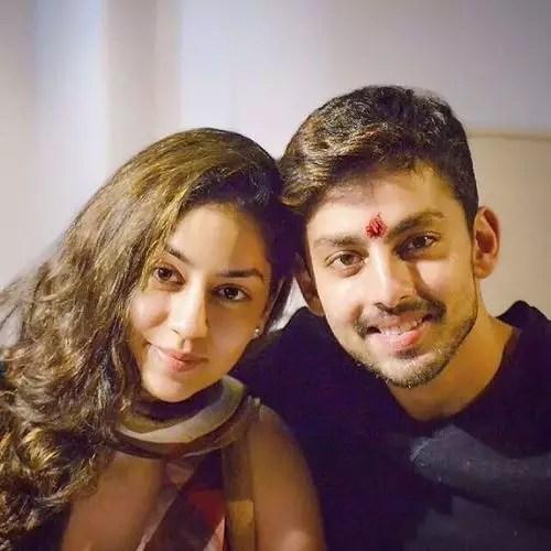 Himash kohli with Disha Kohli