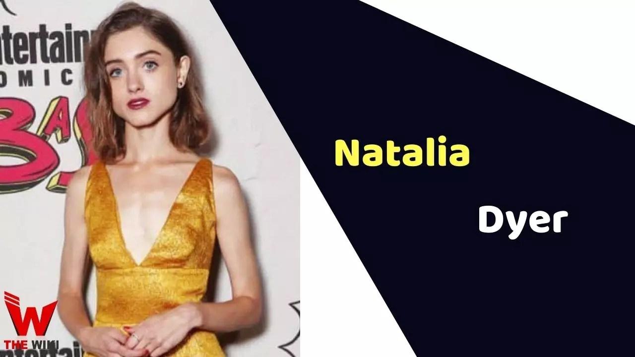 Natalia Dyer (Actress)