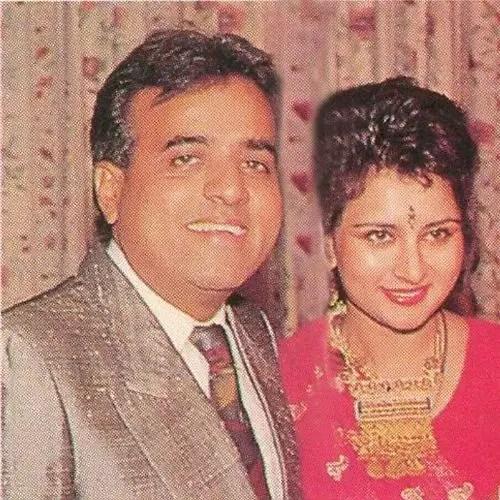 Poonam Dhillon with Ashok Thakeria (Husband)
