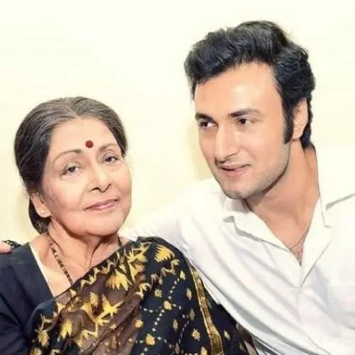 Sean Banerjee with Supriya Devi