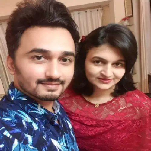 Vikas Patil with Wife