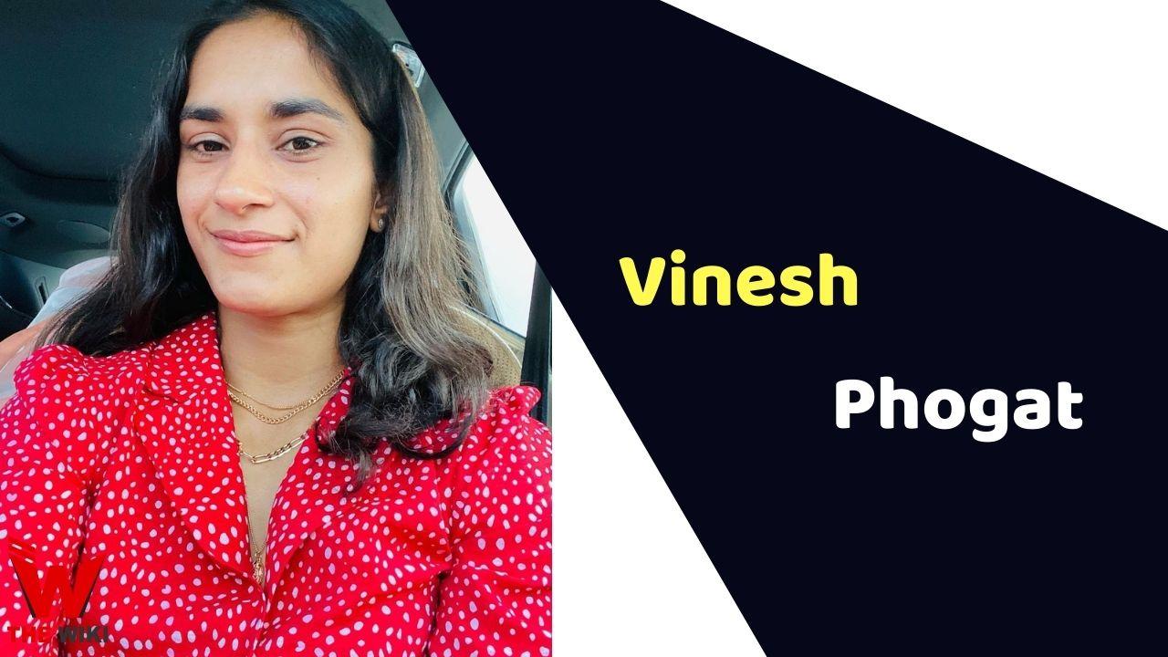 Vinesh Phogat (Wrestler)