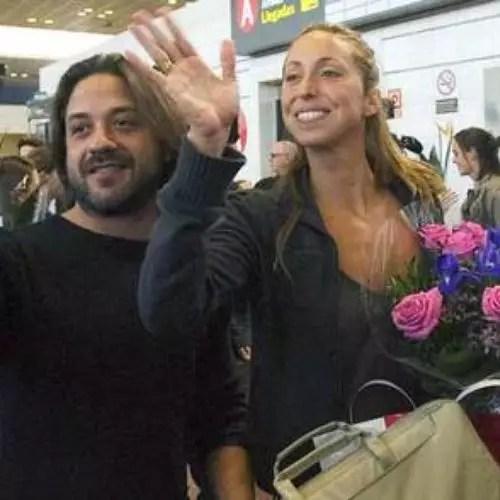 Enrique Arce and Gemma Menguel