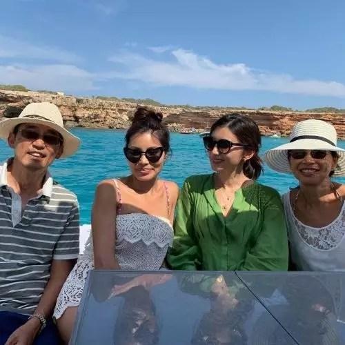 Gemma Chan family
