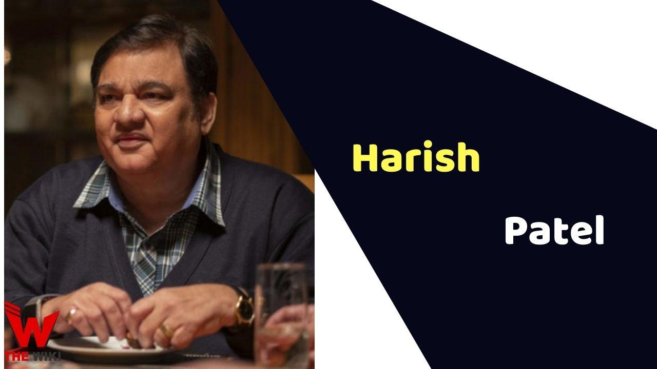 Harish Patel (Actor)