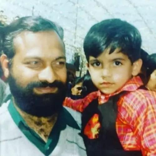 Jubin Nautiyal with Father