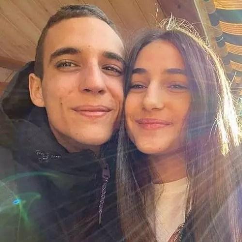 Miguel Herran with Sandra Escacena