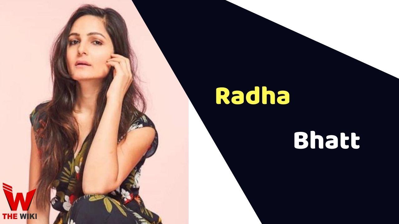 Radha Bhatt (Actress)