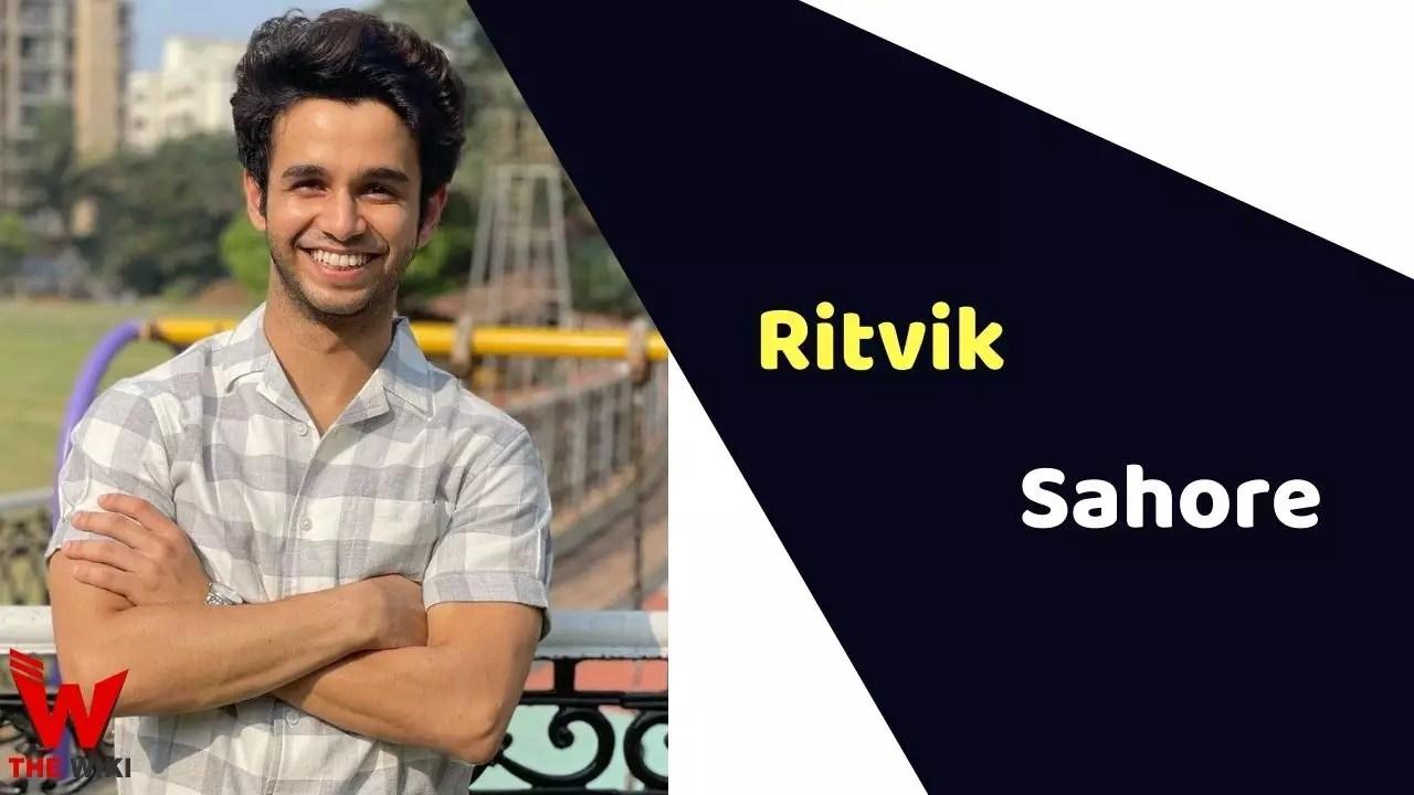 Ritvik Sahore (Actor)