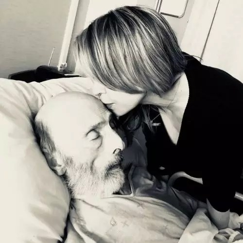 Tara Strong with Father