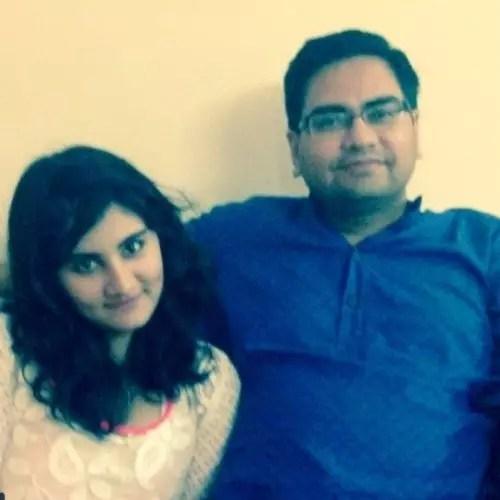 Vedika Bhandari with Father