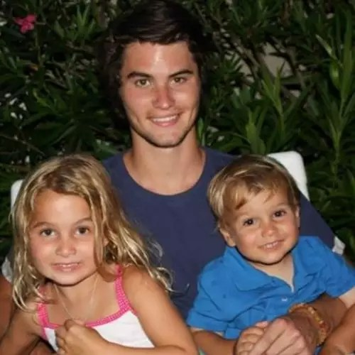 Chase Stokes with Siblings