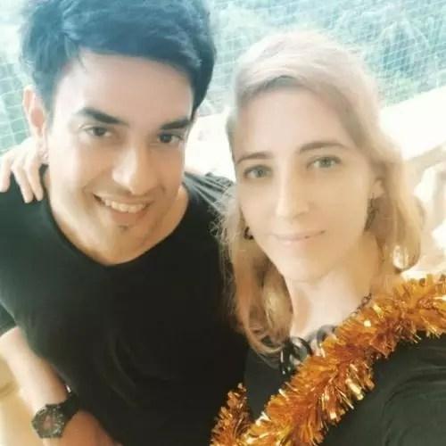 Hasan Zaidi With Wife