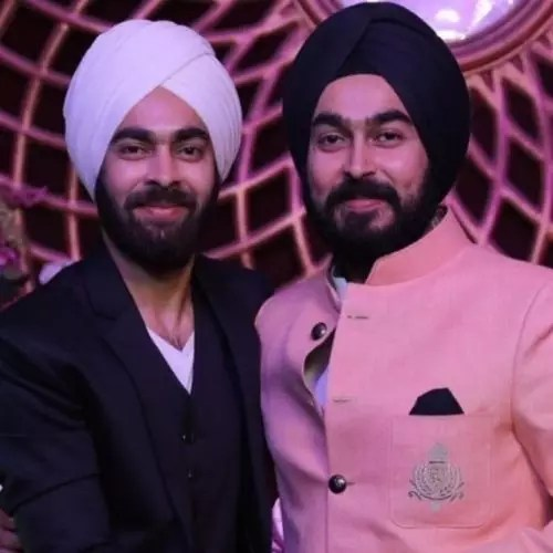 Manjot Singh with Brother