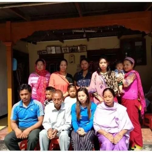 Mirabai Chanu Family