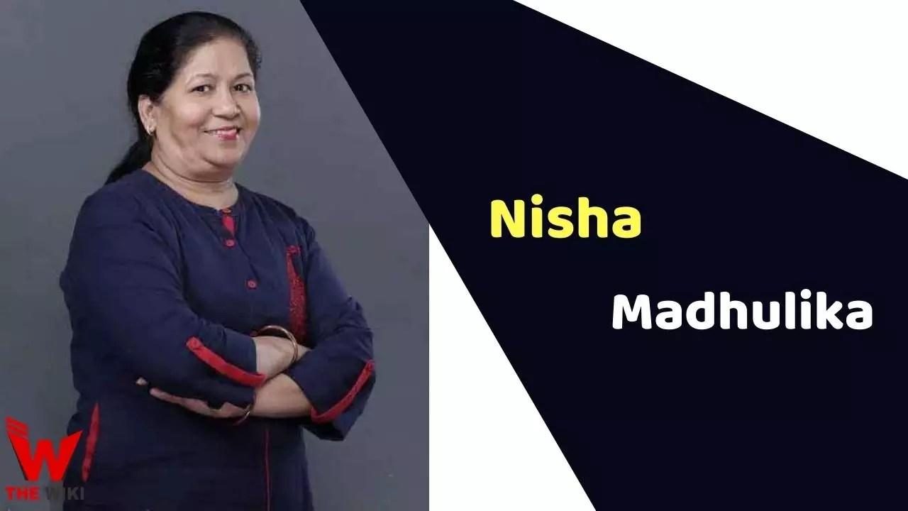 Nisha Madhulika (YouTuber)