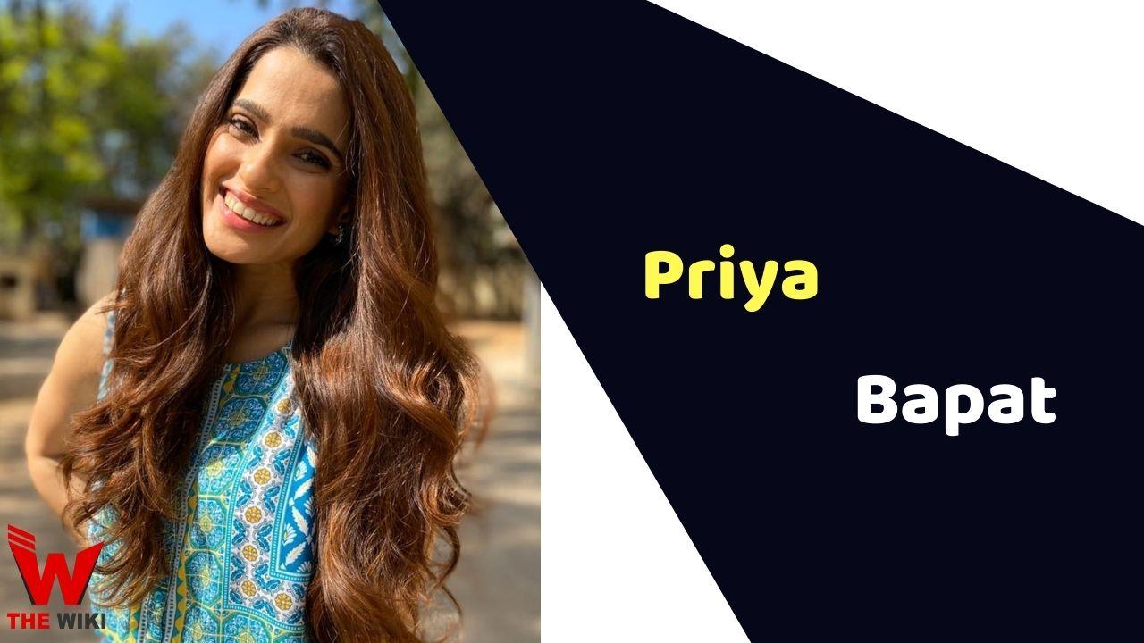 Priya Bapat (Actress)