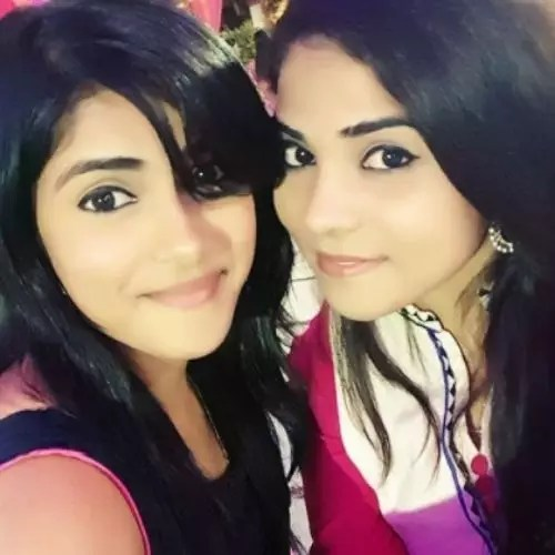 Aparna Mishra with Sister