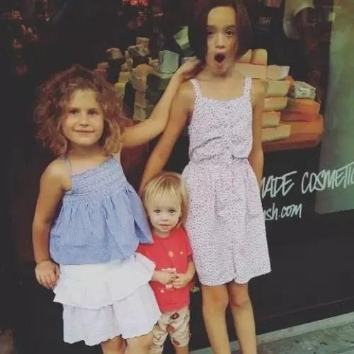 Lulu Wilson with Sisters
