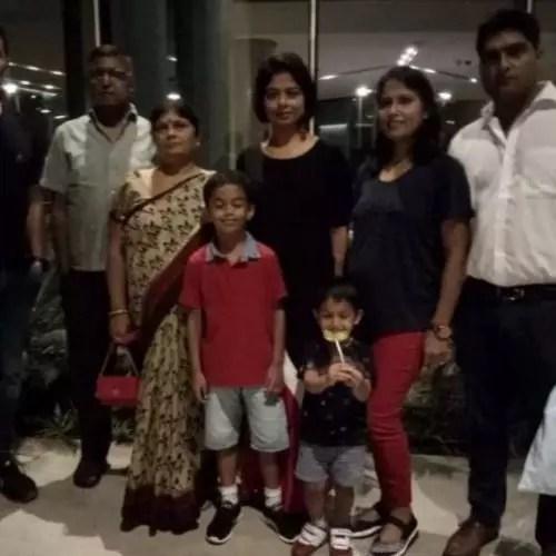 Sarika Singh Family