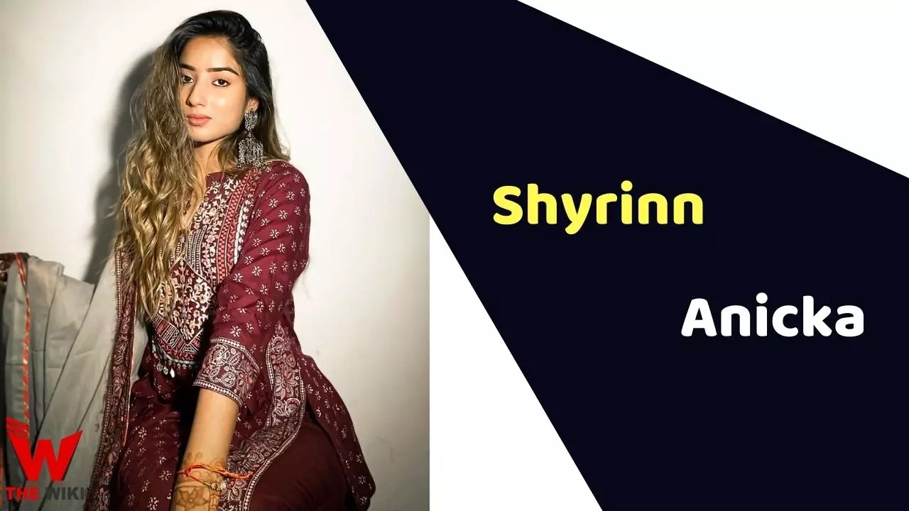 Shyrinn Anicka (Model)