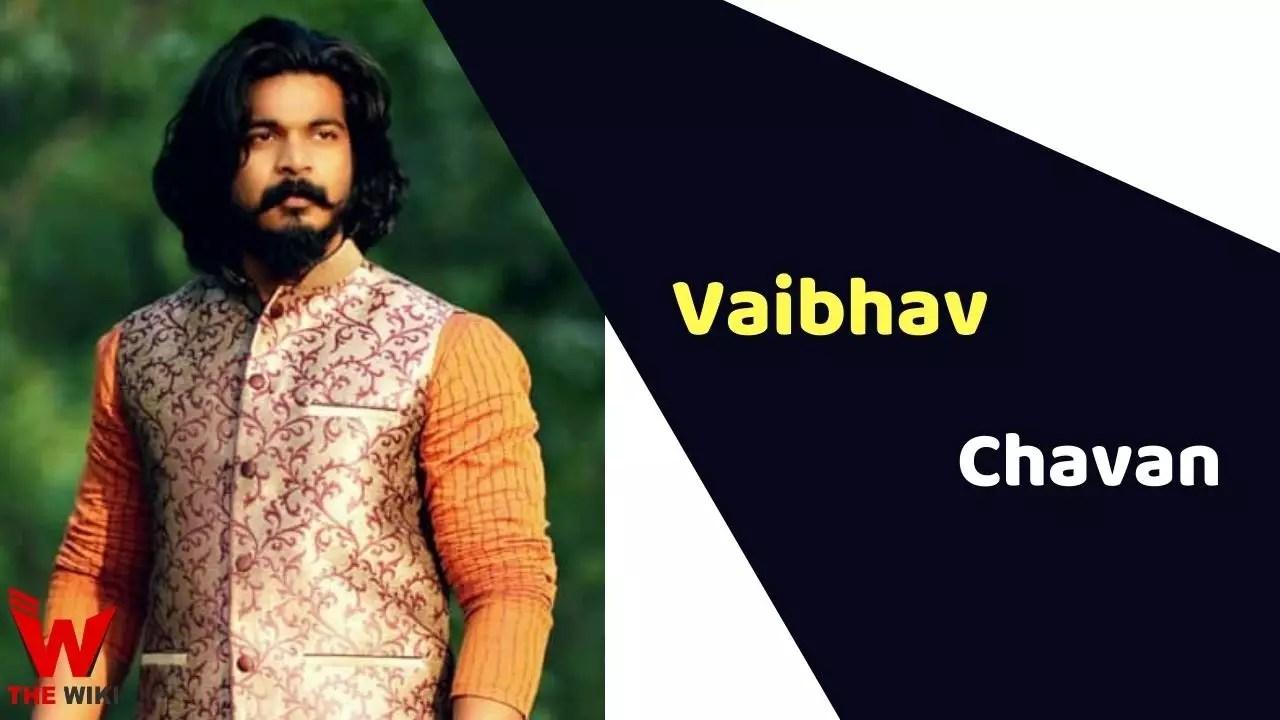 Vaibhav Chavan (Actor)