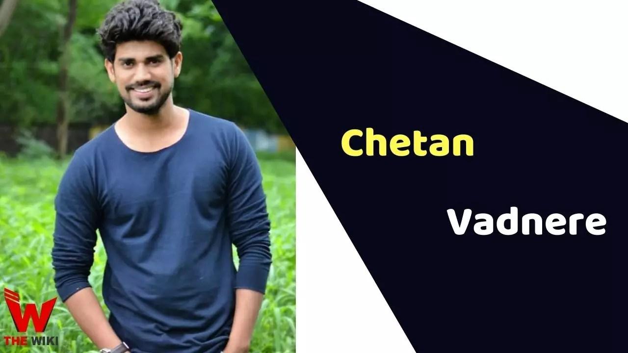 Chetan Vadnere (Actor)
