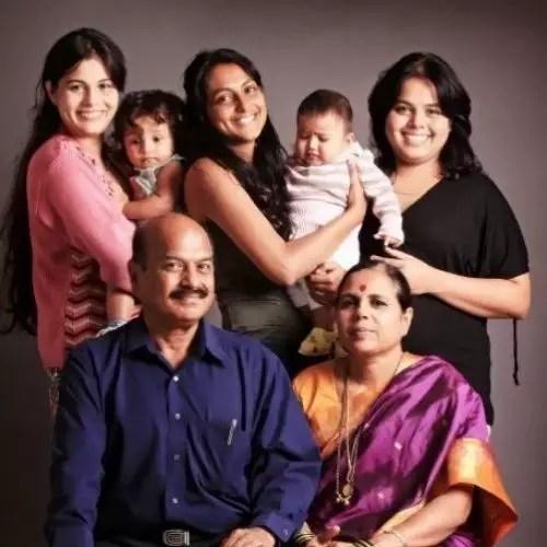 Geetanjali Tikekar Family
