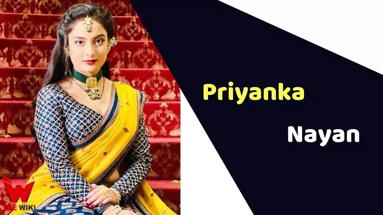 Priyanka Nayan (Actress)