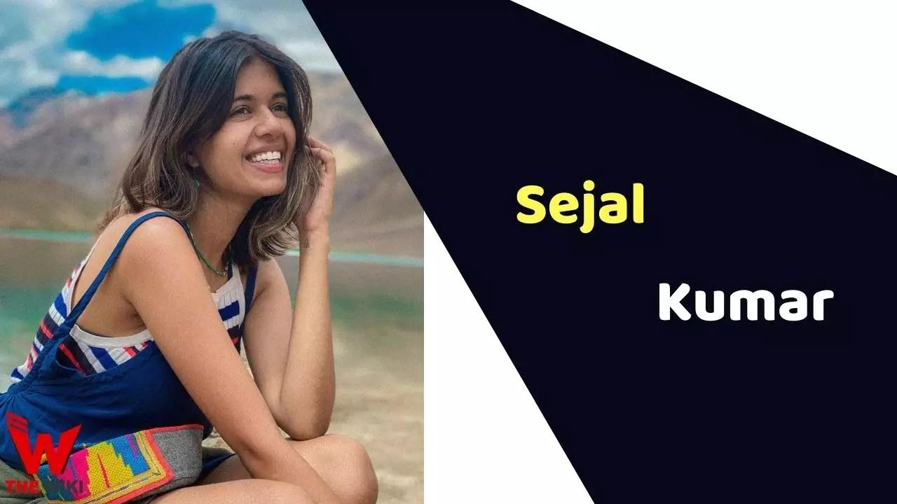 Sejal Kumar (YouTuber)