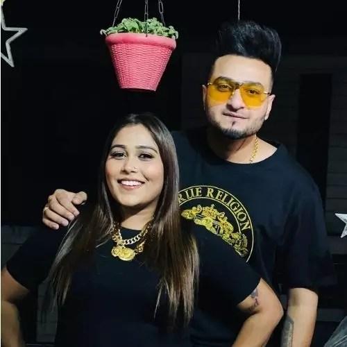 Afsana Khan with Saajz