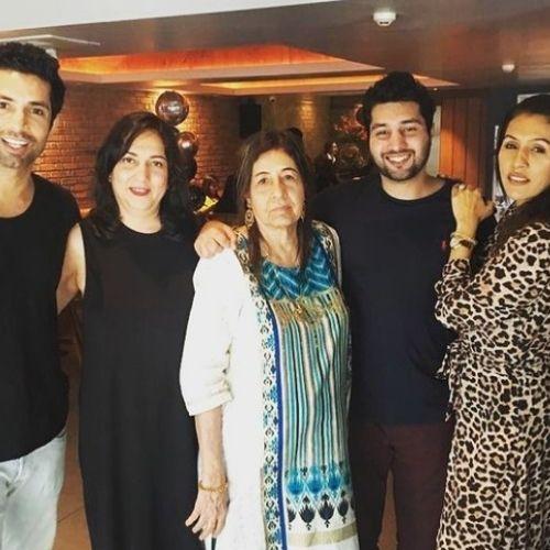 Sahil Shroff Family
