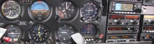 Piper Archer PA28-181 instrument panel