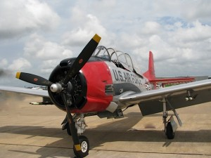 North American T28A, built 1951, West Houston Airport, Texas (photo credit: WikiWings)