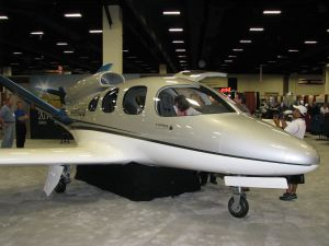 The Vision SF50 Personal Jet by Cirrus Aircraft