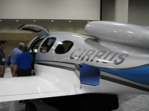 Cirrus Vision SF50 Personal Jet, Fort Worth, TX Trade Show
