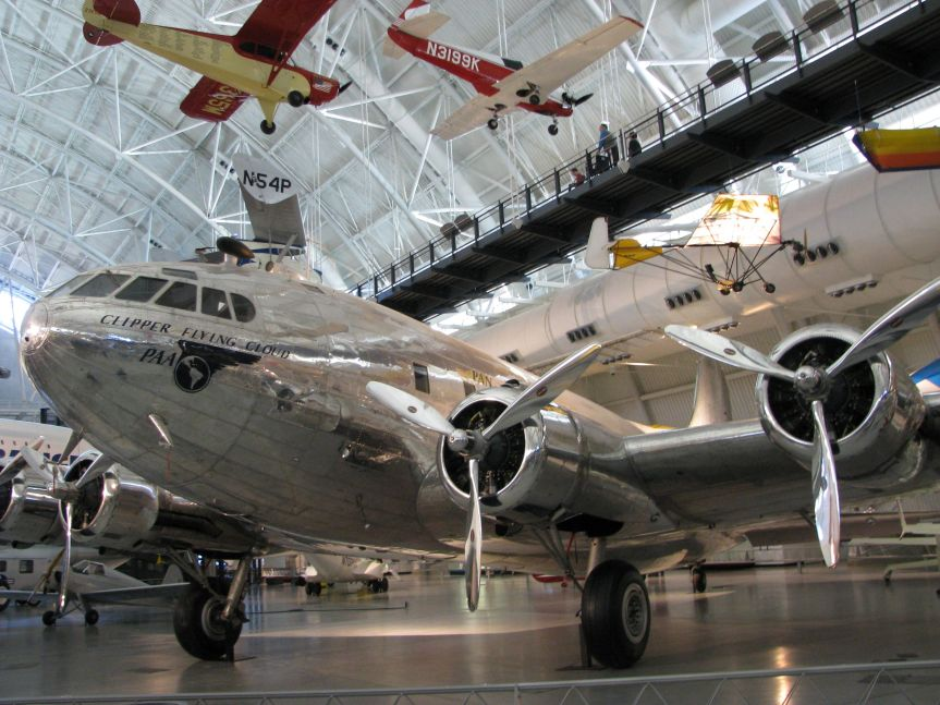 Smithsonian National Air and Space Museum, Chantilly Virginia, photo credit wikiWings