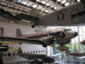 Eastern Airlines DC-3, National Air and Space Museum, Washington, DC, credit wikiWings
