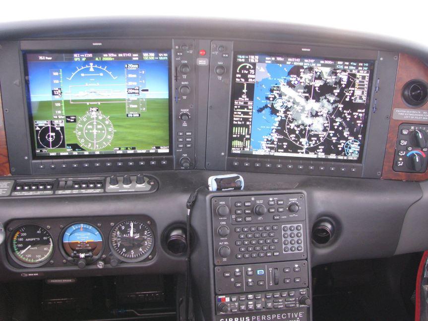 2008 SR22TN-G3, 194 knots TAS, 75% power, FL 20,000 feet, photo credit wikiWings