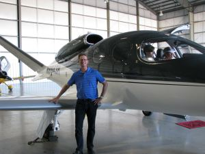 2017 Cirrus Aircraft Vision SF50 Personal Jet, photo credit wikiWings