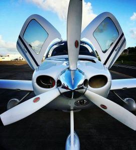 Cirrus Aircraft SR22-G1 in Puerto Plata, Photo credit Persio Perez, Dominican Plane Spotters