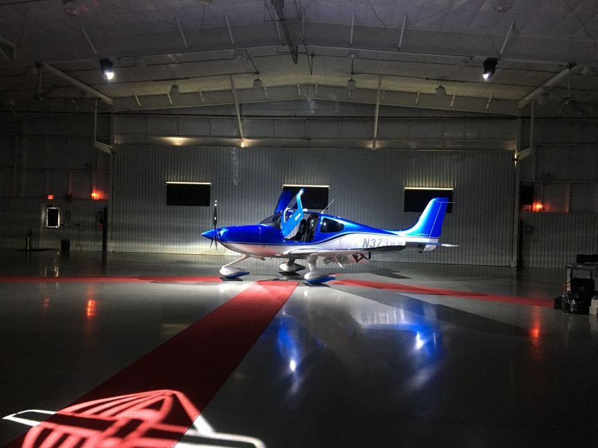 2019 Cirrus Perspective+ SR22T G6, Cirrus Delivery Hangar, Mc Ghee Tyson Airport (KTYS), Knoxville, TN, photo credit wikiWings