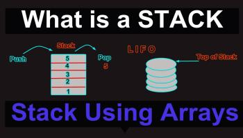 implementation of stack data structure c/c++
