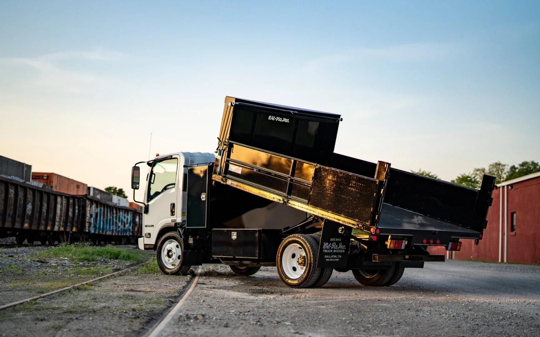 Landscape Dump Truck Beds Wil Ro Truck Bodies