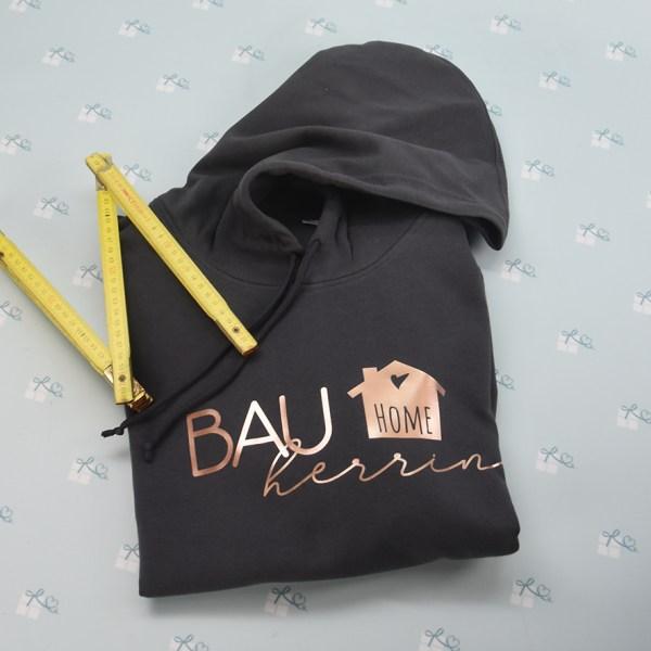 Bauherr - Hoodie - asphalt-Rose - 1