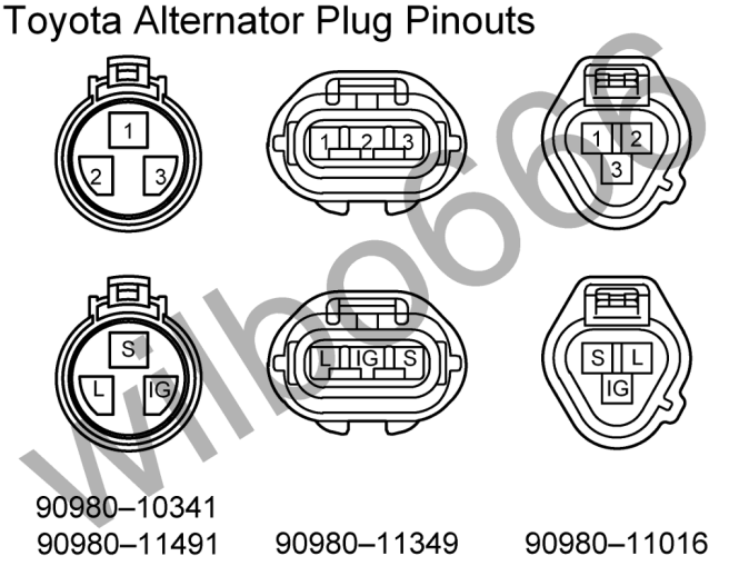 toyota alternator wiring diagram wiring diagrams gm alternator wiring diagram diagrams toyota wiring harness builders